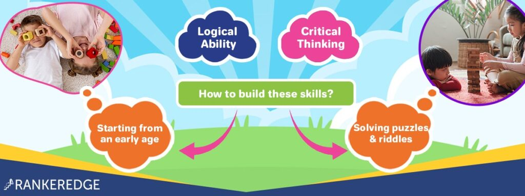 Build logical and critical reasoning skills - through maths puzzles, riddles, brain teasers